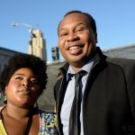 Dulce Sloan and Roy Wood Jr. at Clusterfest 2018, by Jon Bauer