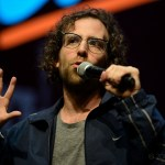 Kyle Mooney in Drunk History at Clusterfest 2018, by Jon Bauer