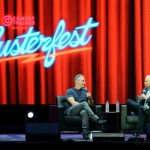 Jon Stewart at Clusterfest 2018, by Jon Bauer