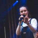 Sigrid at Openair St. Gallen 2018 in Switzerland, by Ian Young