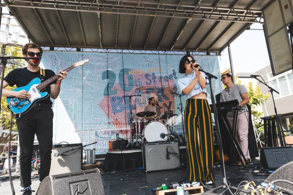 The Marias at the Noisepop 20th St. Block Party 2018, by Ian Young
