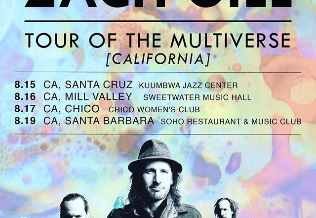 Zach Gill embarks on mid-August tour of the Multiverse