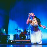 Kali Uchis & Gabriel Garzon-Montano at The Warfield, by Ian Young