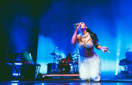 Photos: Kali Uchis & Gabriel Garzon-Montano at the Warfield