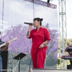 Ana Tijoux at Hardly Strictly Bluegrass 2018 in Golden Gate Park, by Ria Burman