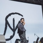 Moses Sumney at Treasure Island Music Festival 2018, by Priscilla Rodriguez