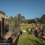 Andrea Gibson at Hardly Strictly Bluegrass 2018 in Golden Gate Park, by Ria Burman