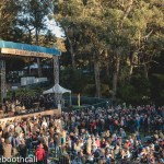 """Live From Here"" with Chris Thile & Gaby Moreno at Hardly Strictly Bluegrass 2018 in Golden Gate Park, by Ria Burman"