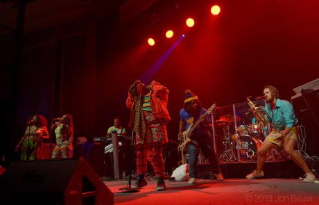 Photos: Tank and The Bangas at the UC Theatre