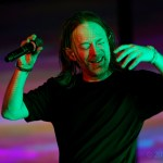 Thom Yorke at the Bill Graham Civic Auditorium, by Jon Bauer