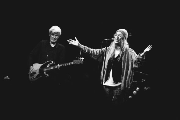 Patti Smith & Her Band at The Fillmore, by Ria Burman