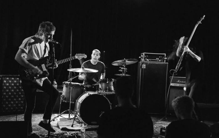 State Faults reunite at the Chop Shop with friends