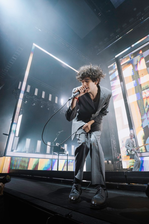 The 1975 at the Bill Graham Civic Center, by Eric Molyneaux