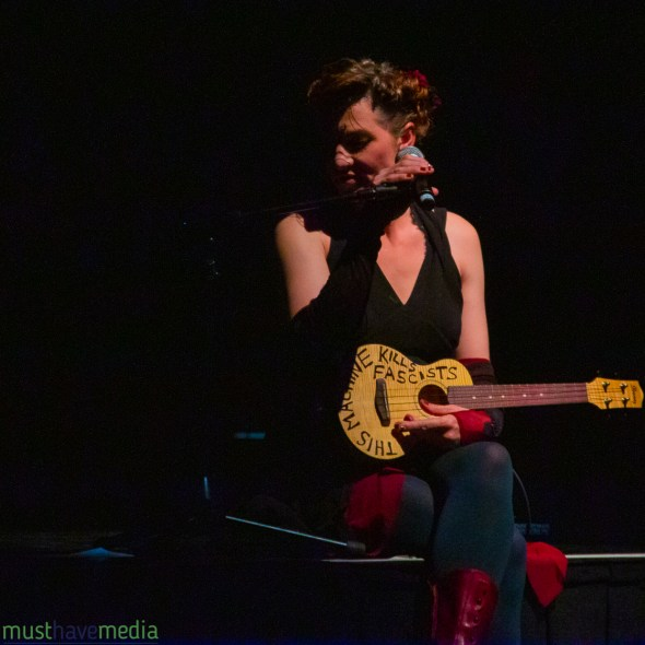 Amanda Palmer at The Warfield, by Joshua Huver