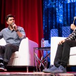 Colin Jost and Fred Armisen at Clusterfest 2019, by SarahJayn Kemp