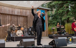 The Psychedlic Furs at Stern Grove, by Patric Carver
