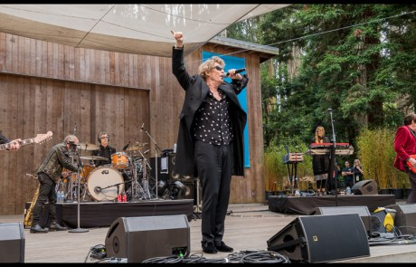 James and the Psychedelic Furs at Stern Grove