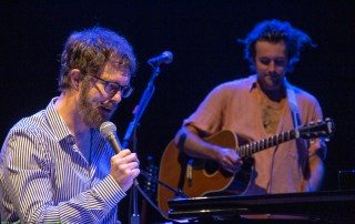 Ben Folds at the Shoreline Amphitheatre, by Joshua Huver