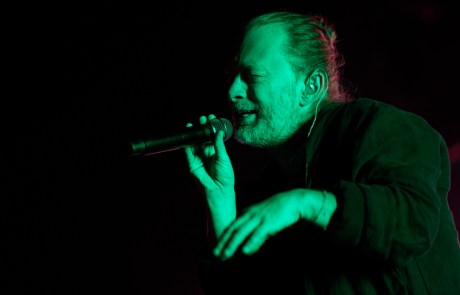 Photos: Thom Yorke and Andrea Belfi at the Greek Theatre
