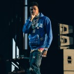 Blueface at Rolling Loud 2019, by Salihah Saadiq