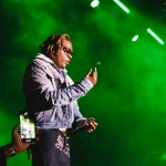 Gunna at Rolling Loud 2019, by Salihah Saadiq