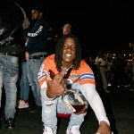 OMB Peezy at Rolling Loud 2019, by Salihah Saadiq