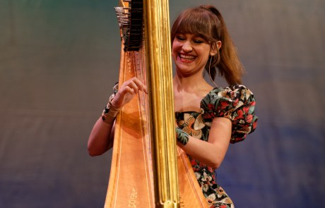 Review + Photos: Joanna Newsom at the Herbst Theatre