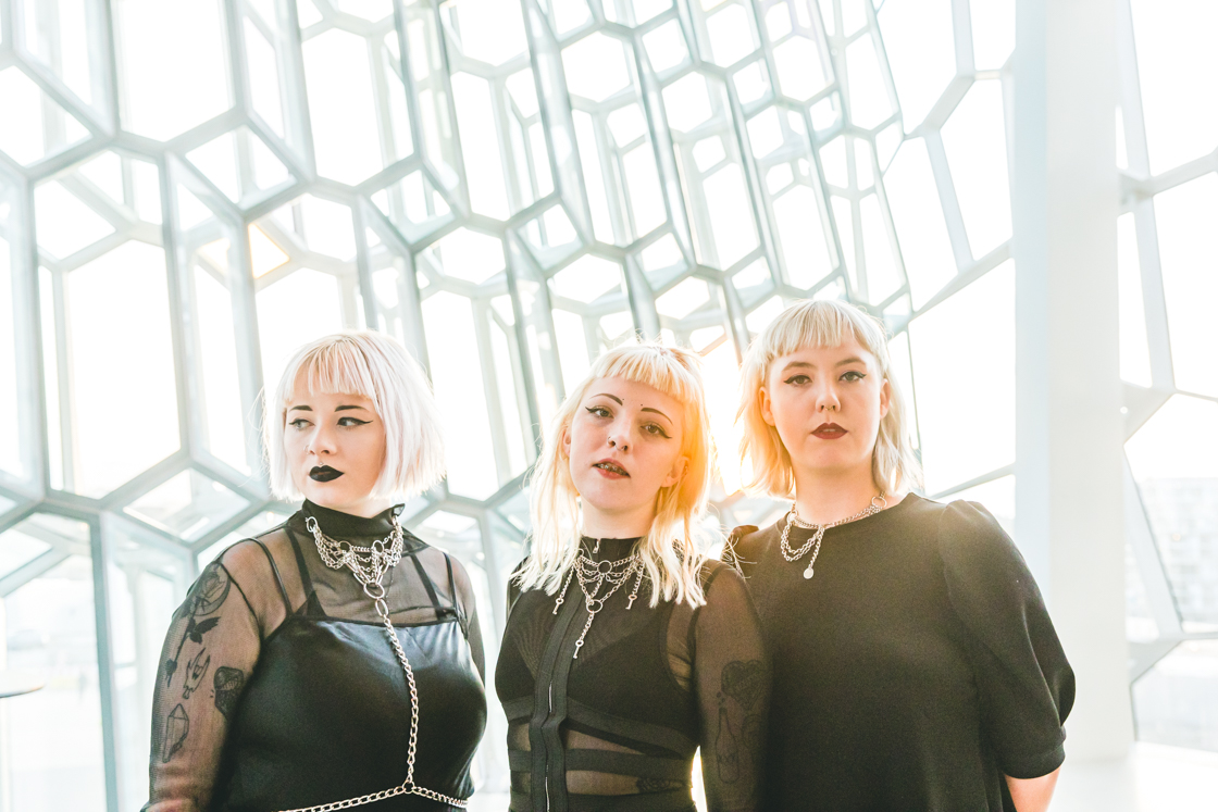 Kaelan Mikla at Iceland Airwaves 2019, by Ian Young