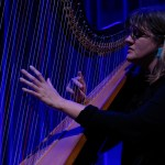 Mary Lattimore at the Swedish American Hall, by Jon Bauer