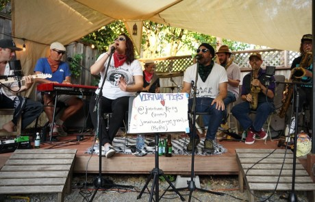 Review + Photos: Soul Ska Live Stream at A Backyard in San Anselmo