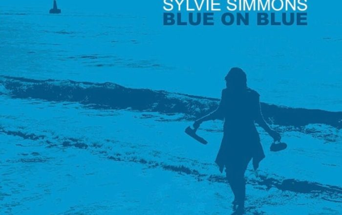 Sylvie Simmons releases 'Blue on Blue' today!