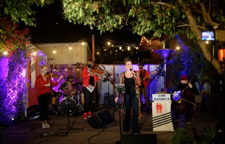 "Review + Photos: Cosa Nostra Strings at the ""Pod Patio"""