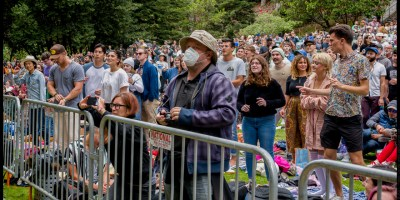 Crowd at Stern Grove, by Patric Carver