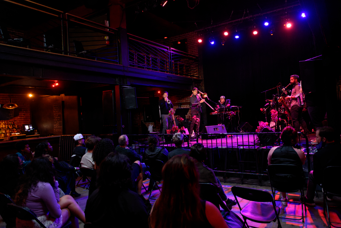 """Jazz Mafia's """"The Birth of the Cool"""" at The New Parish, by Jon Bauer"""