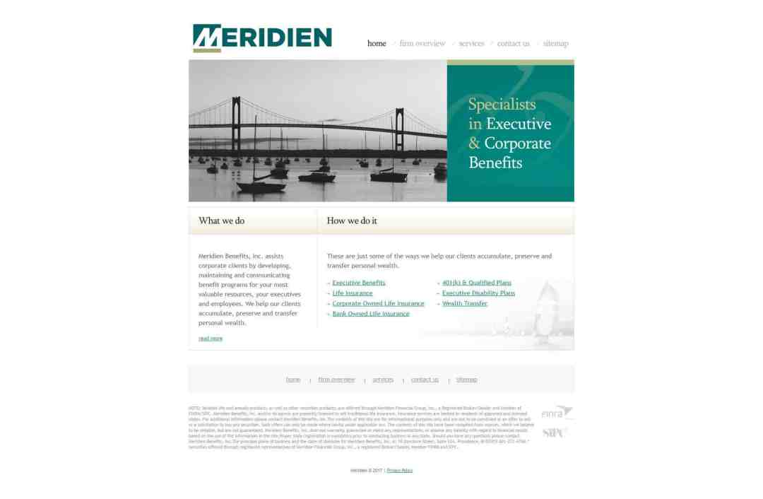 Original Website Design