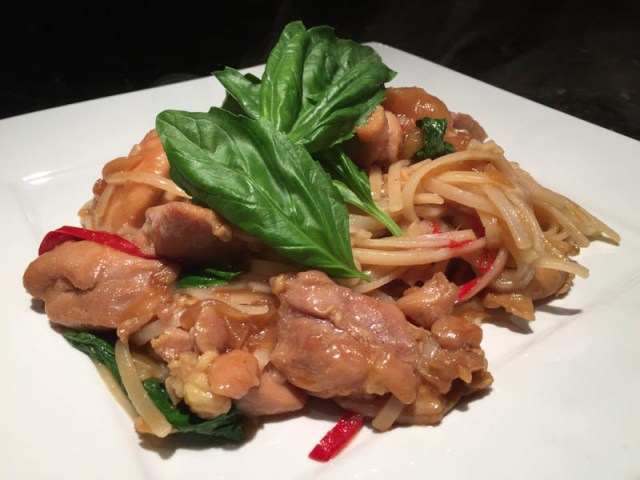 Thai Chicken Basil Stir Fry