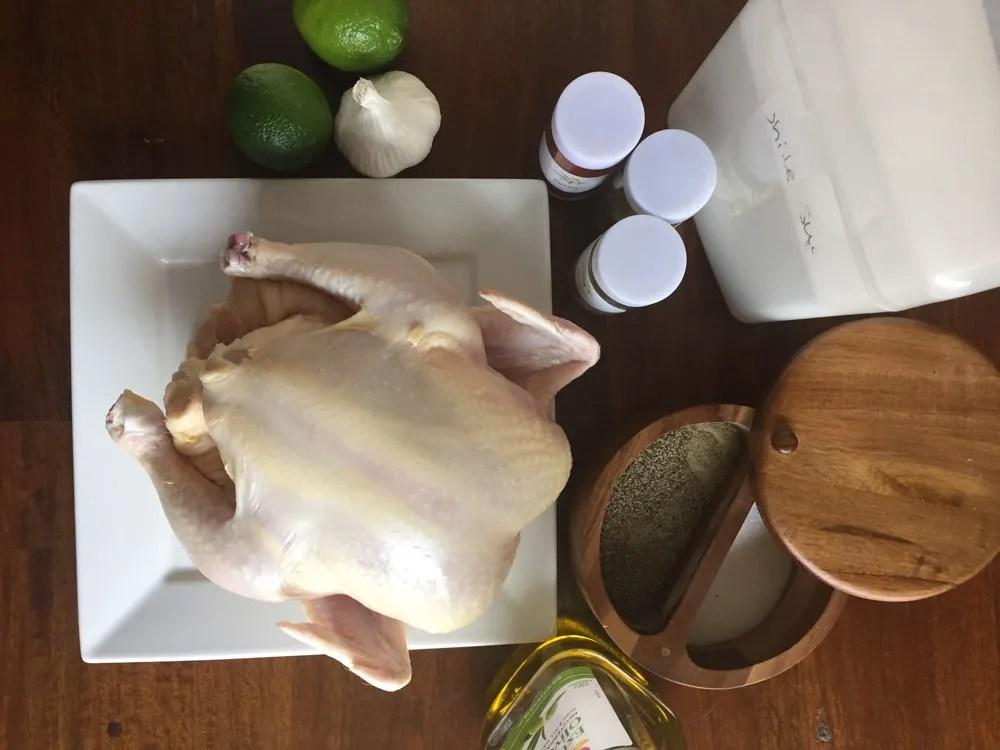 Peruvian Chicken on the Big Green Egg