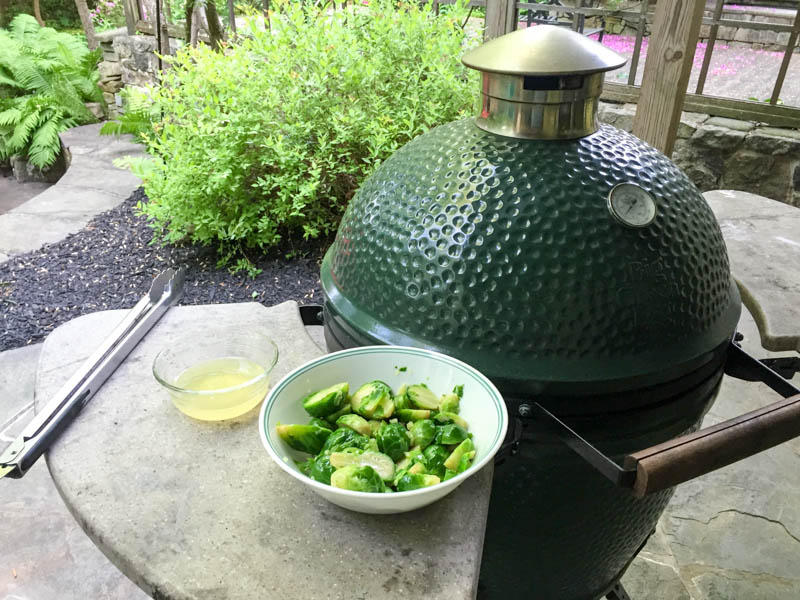 Big Green Egg Sous Vide Chicken