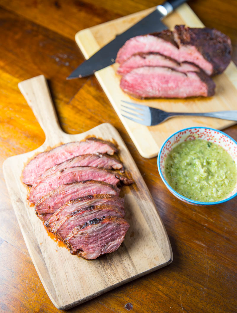 Big Green Egg Reverse Sear Tri Tip