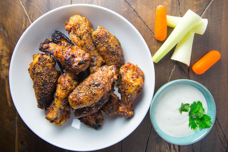 Big Green Egg SPF53 Chicken Wings