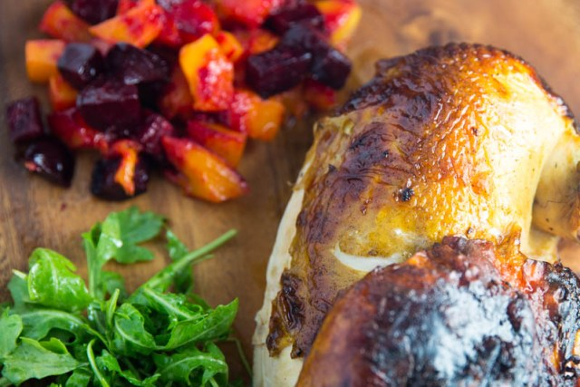 Big Green Egg Curry Brined Chicken