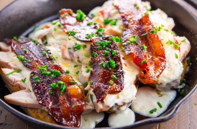 Grilled Kentucky Hot Brown