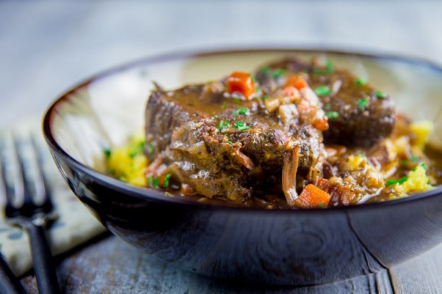 Braised Smoked Beef Short Ribs