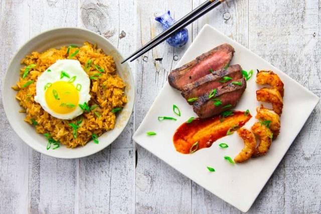 Korean Style Wagyu Flat Iron Steak
