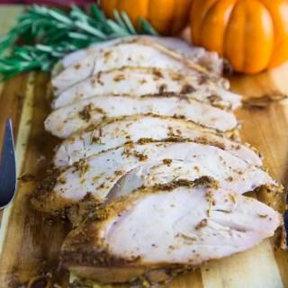 Smoked Brined Split Turkey Breast