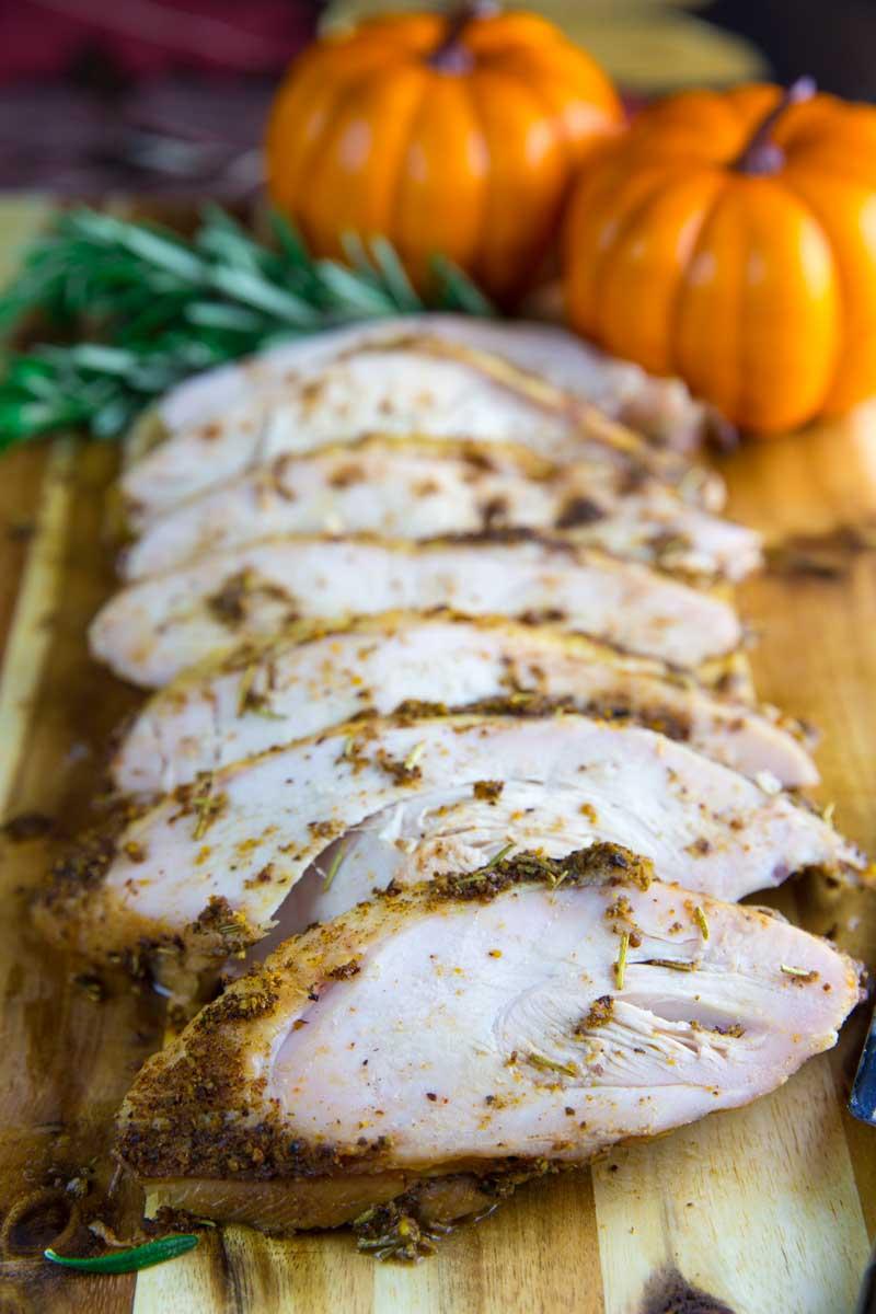 Smoked brined split turkey breast the bbq buddha Cooking turkey split in half