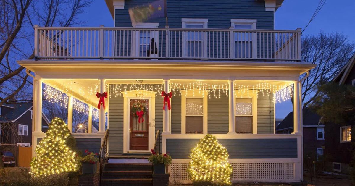 how to hang christmas lights if you
