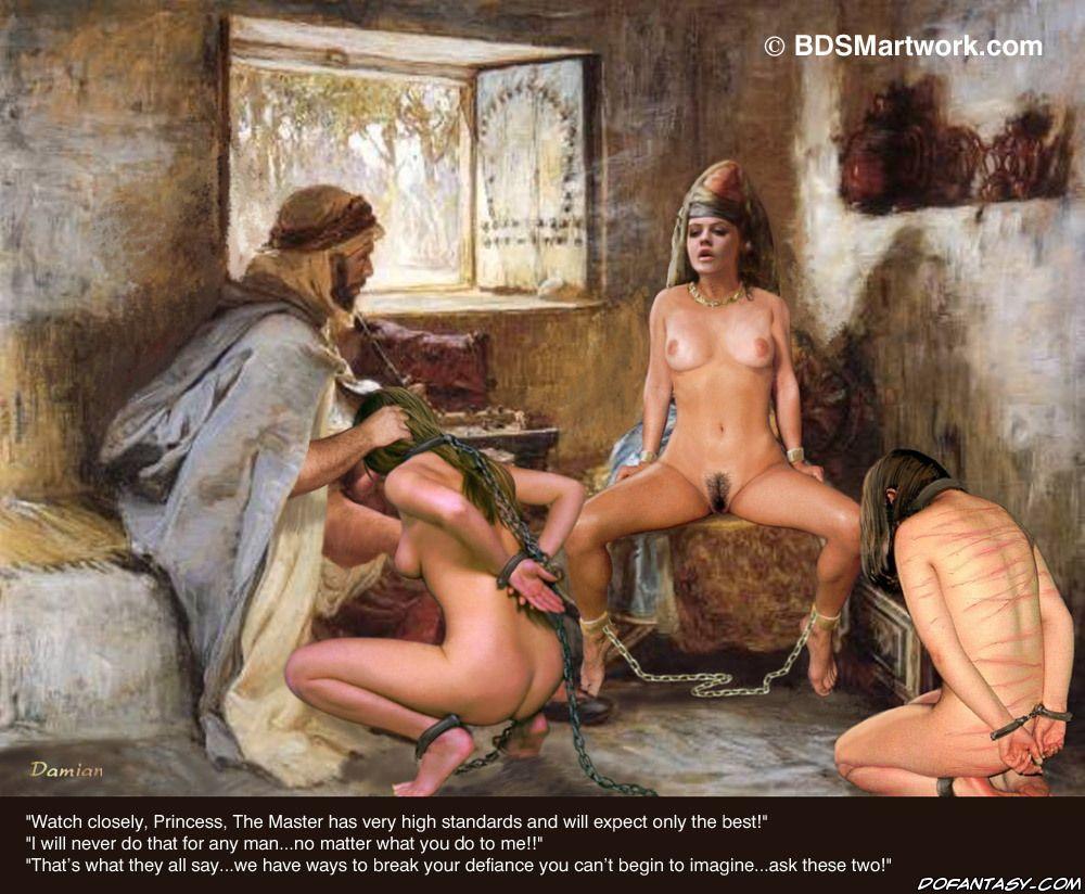 Порно рабыни султана, женщина с толстыми ногами показывает жопу фото