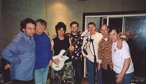 recording with jeff beck
