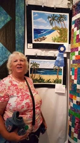 Quilt maker - Karen Cox